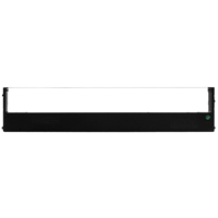 Tally 060425 Black Fabric Ribbon