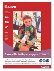 Canon GP501A4 Glossy Photo Paper A4 (100 Sheets)