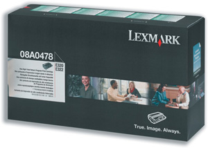 Lexmark 08A0478 High Yield Toner Cartridge