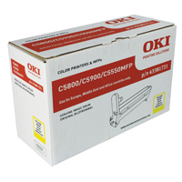 Oki 43381721 Yellow Drum