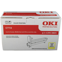 Oki 43913805 Yellow Drum