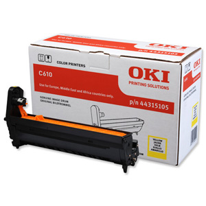 Oki 44315105 Yellow Drum