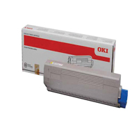 Oki 44844613 Yellow Toner Cartridge (7.3k)