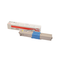Oki 46508709 Yellow High Capacity Toner Cartridge
