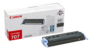 Canon 707BK Black Toner Cartridge