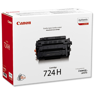 Canon 724H High Capacity Toner Cartridge