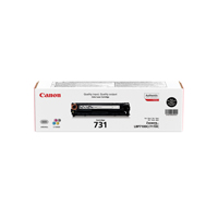 Canon 731BK Standard Capacity Black Toner Cartridge