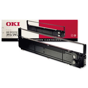 Oki ML393 Black Ribbon