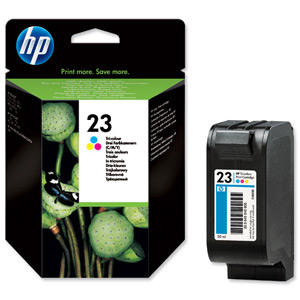 HP C1823D (23D) High Capacity Colour Cartridge