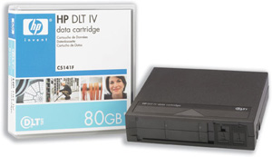 HP	DLT Tapes