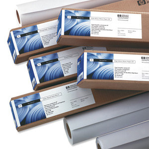 HP C6035A Bright White 610mmx45.7m Inkjet Paper Roll