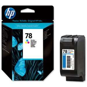 HP C6578D (78D) Colour Inkjet Cartridge