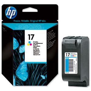 HP C6625A (25A) Colour Inkjet Cartridge