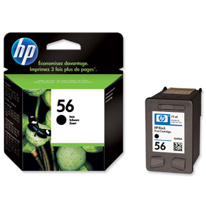 HP C6656A Black Cartridge