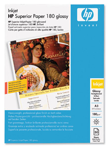 HP C6821A Superior Glossy Photo Paper A3