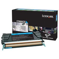 Lexmark C746A1CG Cyan Return Programme Toner Cartridge