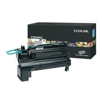 Lexmark C792X1CG Cyan Extra High Capacity Toner Cartridge
