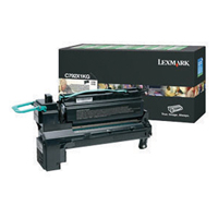 Lexmark C792X1KG Black Extra High Capacity Toner Cartridge