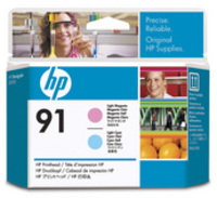 HP C9462A Light Magenta and Light Yellow Cartridges