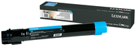 Lexmark LEC950X2CG Cyan Extra High Yield Toner Cartridge