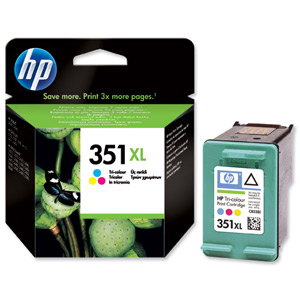 HP CB338EE High Capacity Colour Cartridge