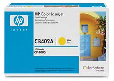HP CB402A Yellow Toner