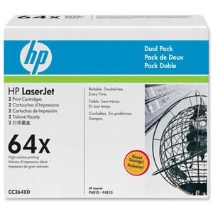 HP CC364XDToner Twin Pack