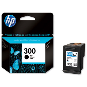 HP CC640EE Black Ink Cartridge