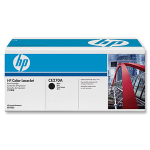 HP CE270A Black Toner