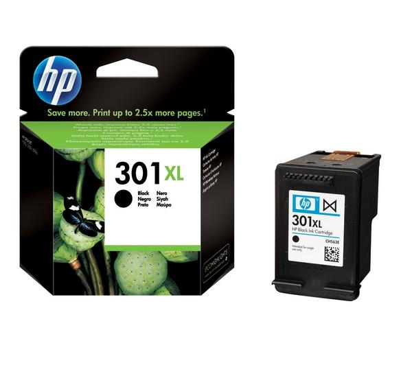 HP 301 XL Ink[High capacity for better value!]