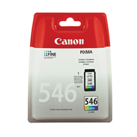 Canon CL546 Standard Capacity Colour Ink Cartridge