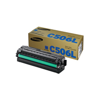 Samsung CLTC506L High Capacity Cyan Toner Cartridge