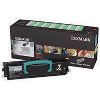 Lexmark E250A11E Use and Return Toner Cartridge