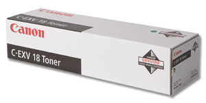Canon EXV18 Black Toner Cartridge