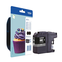 Brother LC123 Twin Black Ink Cartridge Pack