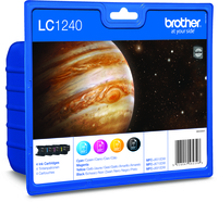 Brother LC1240 Value Pack of Four Cartridges