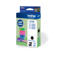 Brother LC221BK Black Ink Cartridge