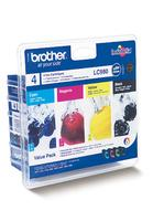 Brother LC980 Value Pack of Four Cartridges