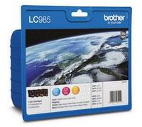 Brother LC985 Value Pack[Three colours included]