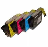 Brother LC985 Rainbow Pack of Four Cartridges