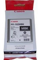 Canon PFI102BK Black Ink Cartridge
