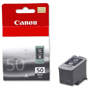 Canon PG50 High Yield Black Cartridge