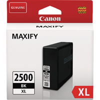 Canon PGI2500XLBK Black High Capacity Ink Cartridge