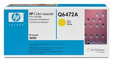 HP Q6472A Yellow Toner
