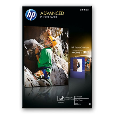 HP Q8692A Advanced Glossy Photo Paper 10x15cm