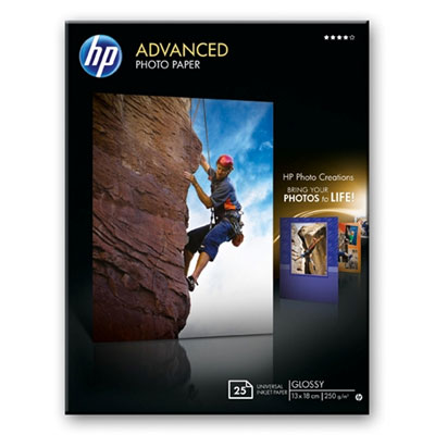 HP Q8696A Advanced Glossy Photo Paper 13x18cm
