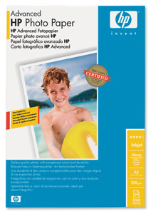 HP Q8697A Advanced Glossy Photo Paper A3