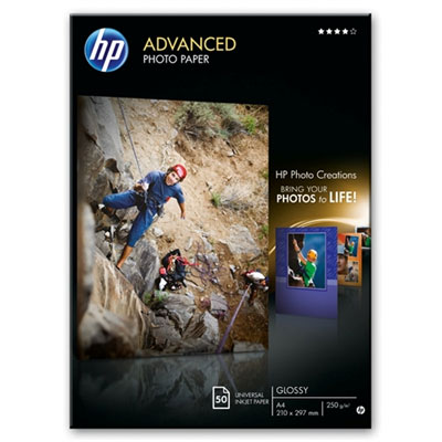 HP Q8698A Advanced Glossy Photo Paper A4
