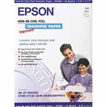 Epson S041154 Iron and Peel T-Shirt Media