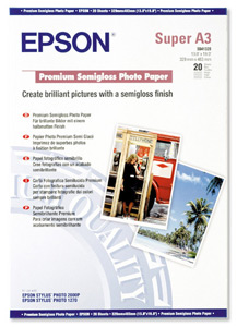 Epson S041328 Premium Semigloss Photo Paper
